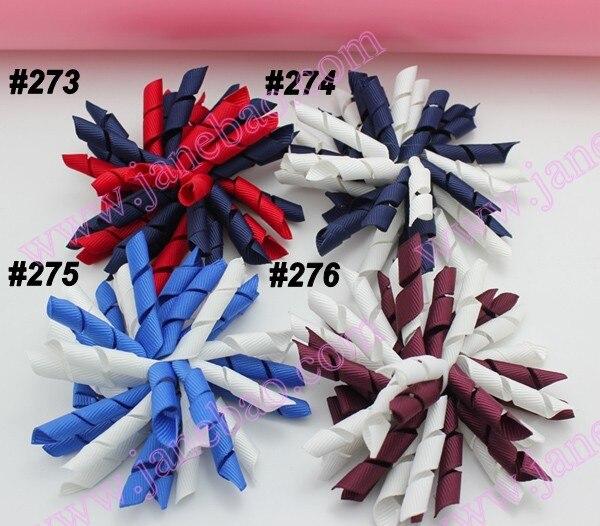 45 шт. 3,5 дюймов коркер банты(для шитья) персонаж ленты заколки для волос