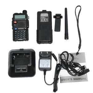 Image 5 - Hot Portable Radio Baofeng 5R 8W UV5R Radio station Baofeng Talkie VHF UHF portofoon walkie talkie Baofeng UV 5R Communicator