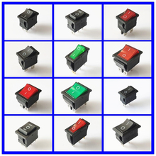 цена на SPST KCD 3PIN 6PIN On/Off Square Boat Rocker Switch DC AC 16A/250V Car Dash Dashboard Plastic Switch Dropshipping Free Shipping