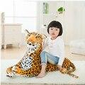 1 unid 30 cm simulación Leapord de peluche de juguete con personal dinero blando leopardo de la felpa almohada decoración del hogar niños juguete
