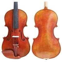 Free Shipping Copy Guiseppe Guarneri del Gesu II 1743 FPVN04 Oil Varnish Violin with Foam Case and Carbon Fiber Bow Master level