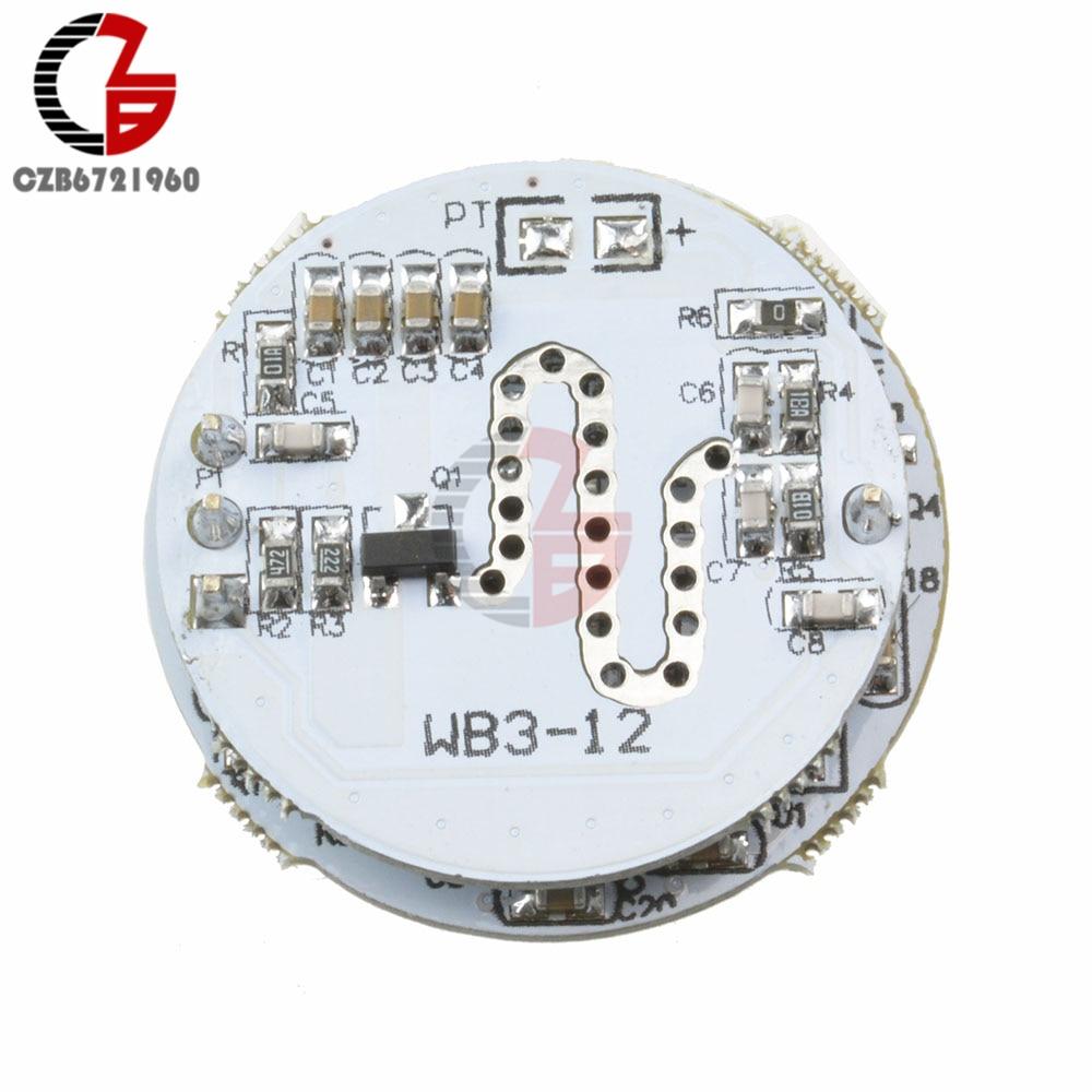 DC 5V 12V LED Microwave Radar Sensor Switch Module PIR Motion Sensor Light Switch Board For LED Light Bulb DIY TTL Signal Output