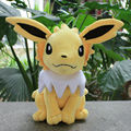 "Cheap price  Free shipping Pokemon Plush Toy 13"" Big Sitting Jolteon Soft Stuffed Animals Toy Collectible Christmas Gift"