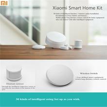 100% Original Xiaomi equipo para el hogar inteligente, puerta de múltiples funciones inteligente inalámbrico interruptor del Sensor del cuerpo humano la puerta ventana del Sensor