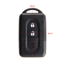 2Buttons Smart Remote Key Fob Case Shell For Nissan Micra Xtrail Qashqal Juke Duke Navara Replacement Car Key Case Cover цена и фото