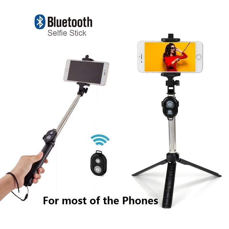 92a400287 Universal Wireless Bluetooth Selfie Stick For Mobile Phone Selfie Stick