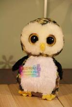 Kawaii Children's Toy   TY Plush Animals Large  Owl Doll   TY Stuffed  Toys  Baby Gift 25cm