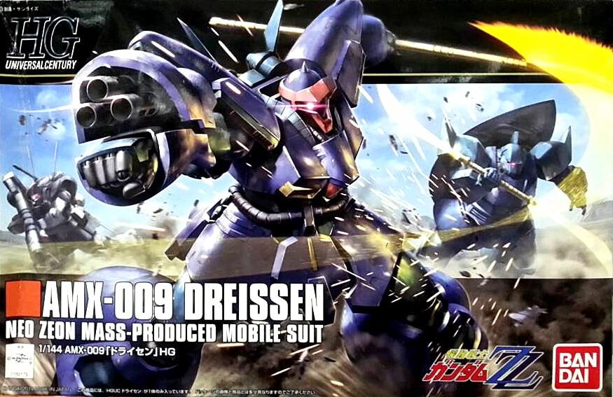 1PCS Bandai 1/144 HGUC 172 AMX-009 Dreissen Gundam brinquedo Mobile Suit Assembly Model Kits Anime action figure Gunpla juguetes ohs bandai mg 179 1 100 sengoku astray gundam mobile suit assembly model kits