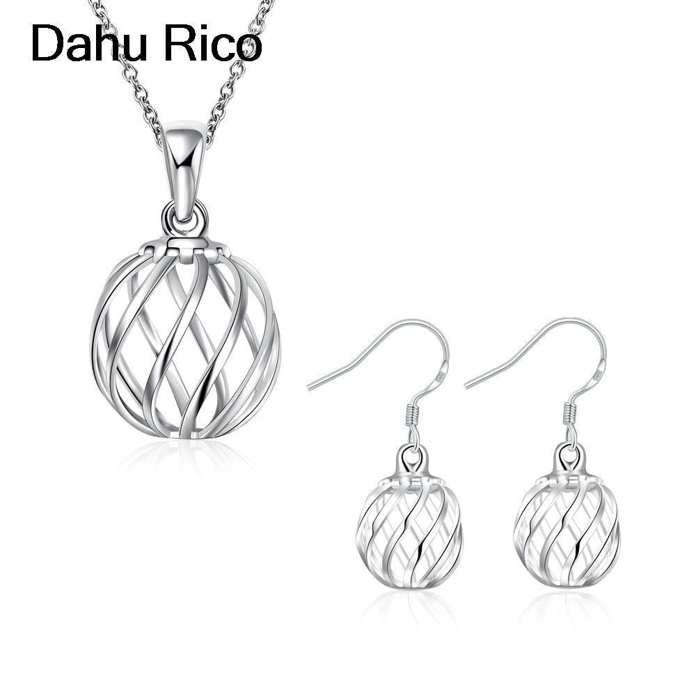 lantern jewelry set komplet for girls turk gros schmuck lima peru atacado Dahu Rico jewelry sets plata plated