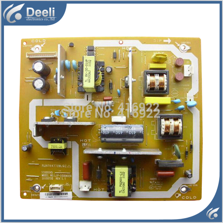 цена на 95% New original for 32GE220A32G120A power supply board RUNTKA770WJQZ