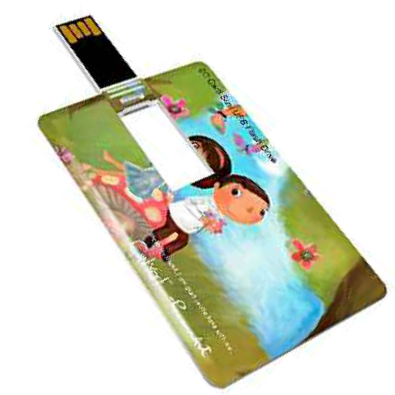 310 Degree Flip Credit Card USB Customize Company Business Logo For Gift USB Flash Drive 2.0 4gb 8gb 16gb (We recommend 10 Pics)