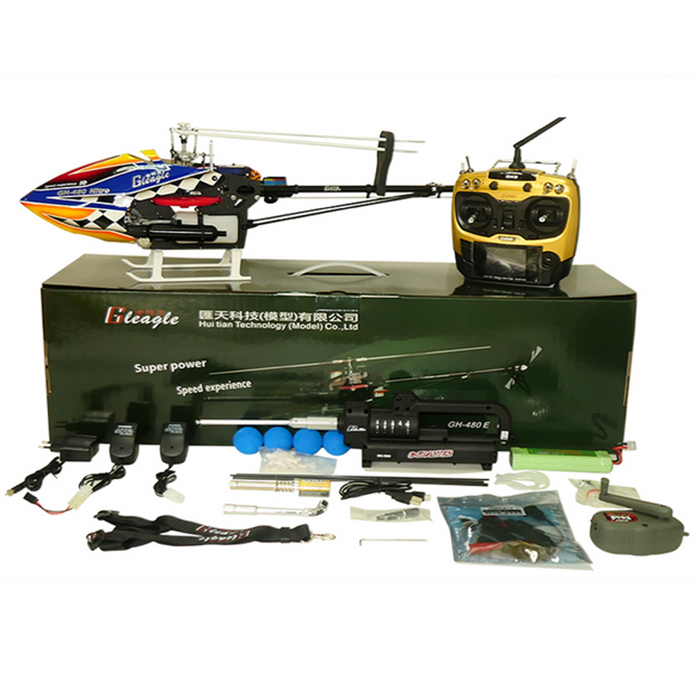 480N 2.4G 6CH/9CH RC Fuel Helicopter RTF DFC 15-Engine 180CC Gasolin Remote Control Nitro Helicopter 60A ESC/Carbon Fiber  global eagle 2 4g 480e dfc 9ch rc helicopter remote 3d drones rtf set 9ch rc 1700kv motor 60a esc carbon fiber body