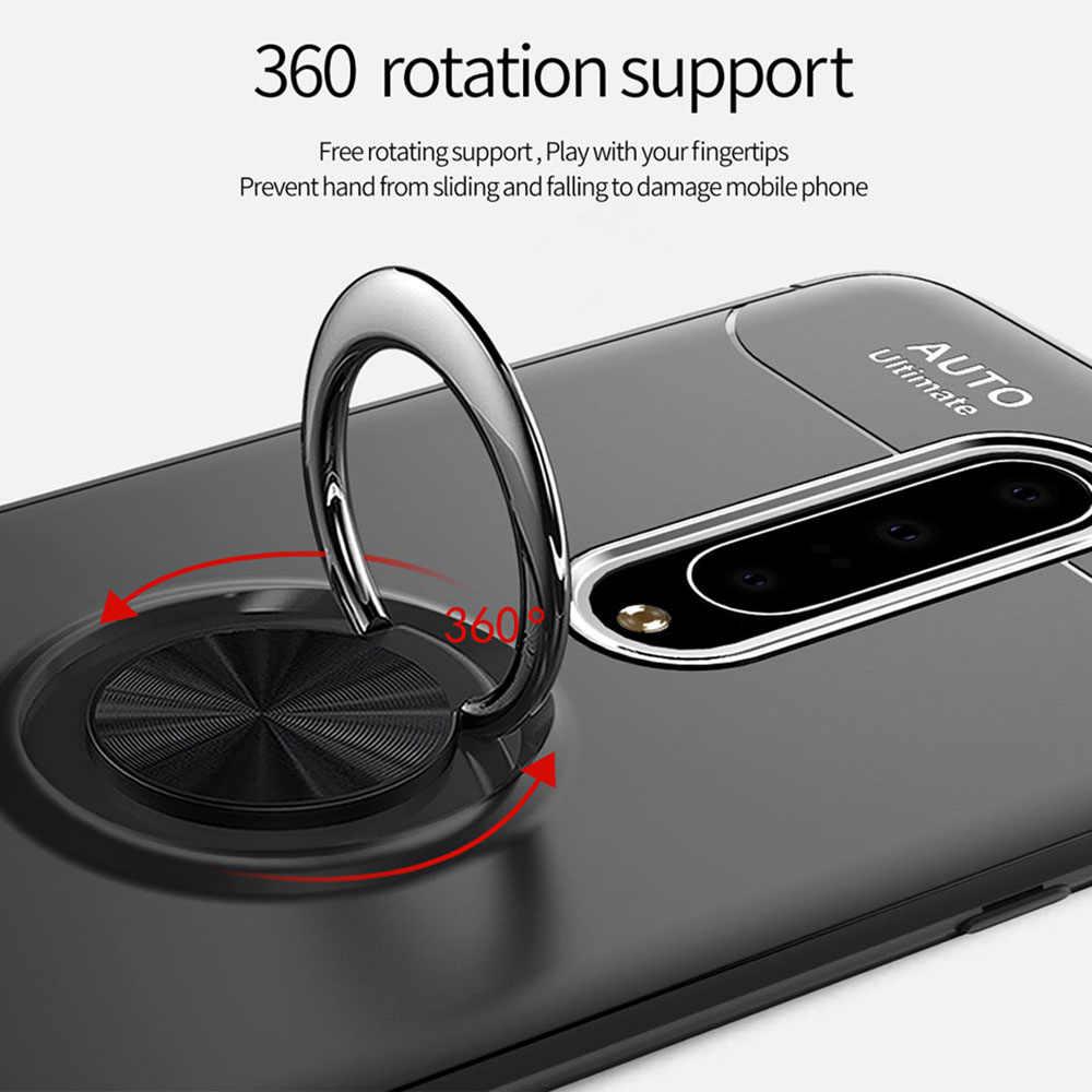 טבעת אבזם סוגר 6.28For OnePlus 6 מקרה עבור אחד בתוספת 6 טלפון סלולרי חזרה כיסוי מקרה