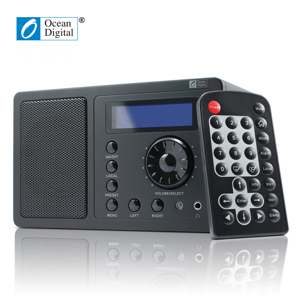 Ocean WR220 Internet Radio Digitale con WLAN Wi-Fi Connessione Wireless Desktop
