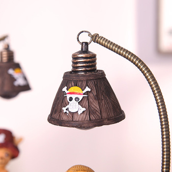 Lámpara de Monkey D. Luffy de One Piece Figuras de One Piece Merchandising de One Piece