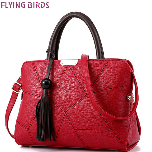 Flying birds women handbag tassel tote bolsa feminina messenger bags ladies cross body women bag designer 2016 purse LM4069fb