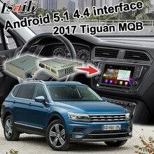 Android 6.0 GPS caixa de navegação para Volkswagen Tiguan 2017 etc caixa de ligação espelho sistema de interface de vídeo youtube jogar waze MQB iGO