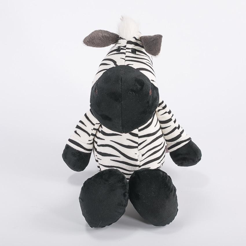 1pcs 25cm Zebra Doll Fierce Jungle Brothers Plush Toys Birthday Gift For Chidren Birthday Presents