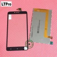Wholesale TOP Quality Black White LCD Display Touch Screen Digitizer For Lenovo A816 A805E A768T Replacement