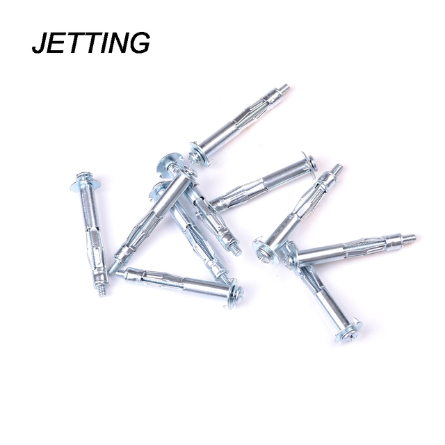 Metal Wall Anchors aliexpress : buy jetting 10pcs metal m4 plasterboard drywall