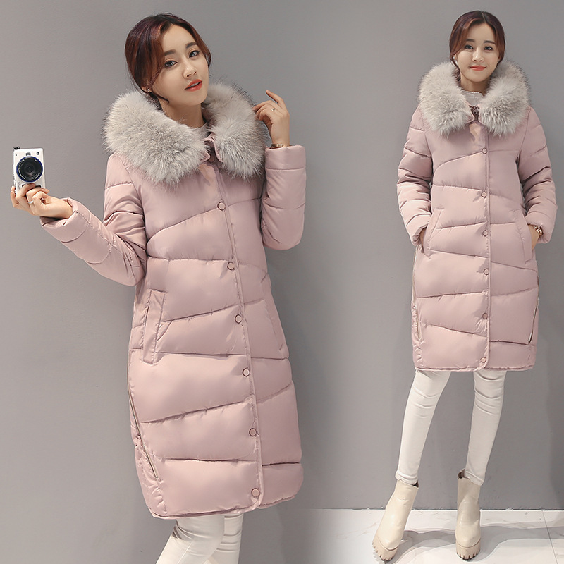 ФОТО Maternity Winter Duck Down Jacket Warm 3X-Long Coats Ladies Raccoon Fur Hooded White Goose Down Parka Thick Warm Maternity Coat