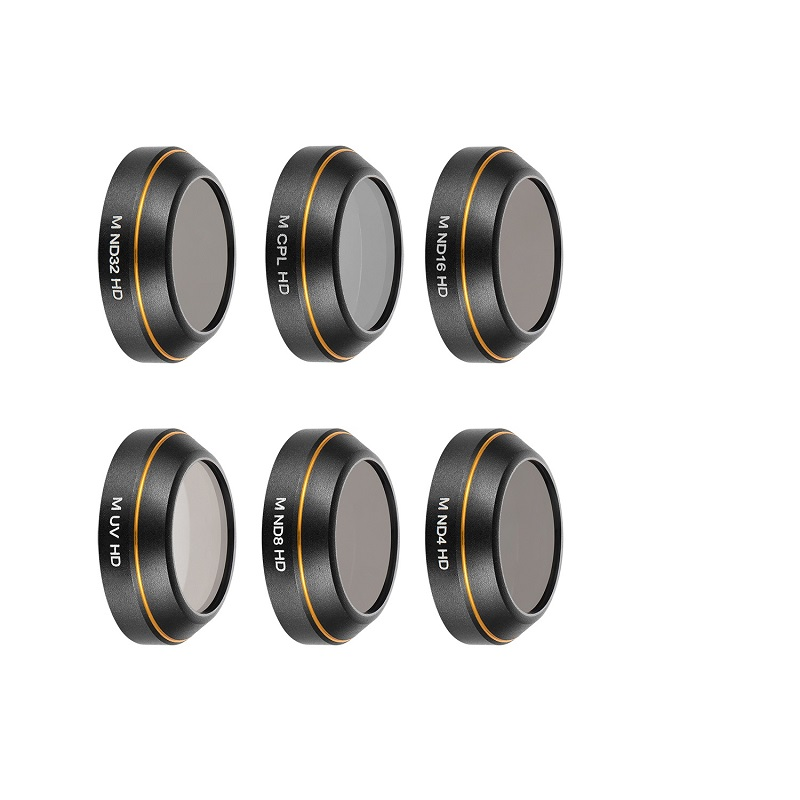MAVIC Pro MCUV /CPL/ND4/ND8/ND16/ND32/STAR6 Camera Lens Filter Set Circular Polarizer Fi ...