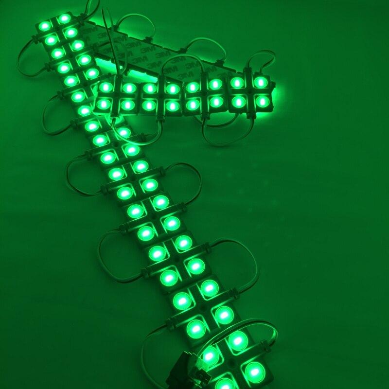 Высокая яркость водонепроницаемый led Модули 12 В 4 светодиода для LED канал письмо реклама знак светодиодный модуль закачки