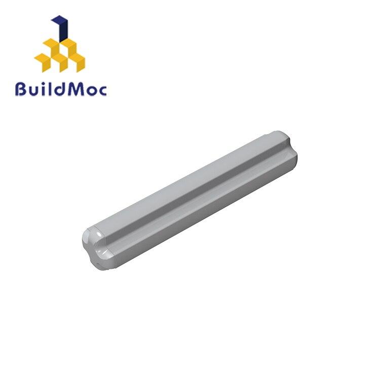 BuildMOC Compatible Assembles Particles 4519 1x3 For Building Blocks Parts DIY LOGO Educational Tech Parts Toys