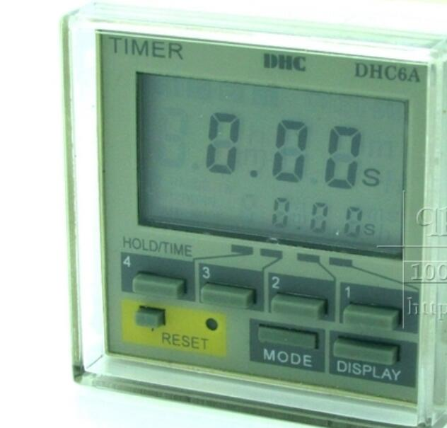 ФОТО Wenzhou Dahua time relay DHC6A multi-function time relay liquid crystal display time relay