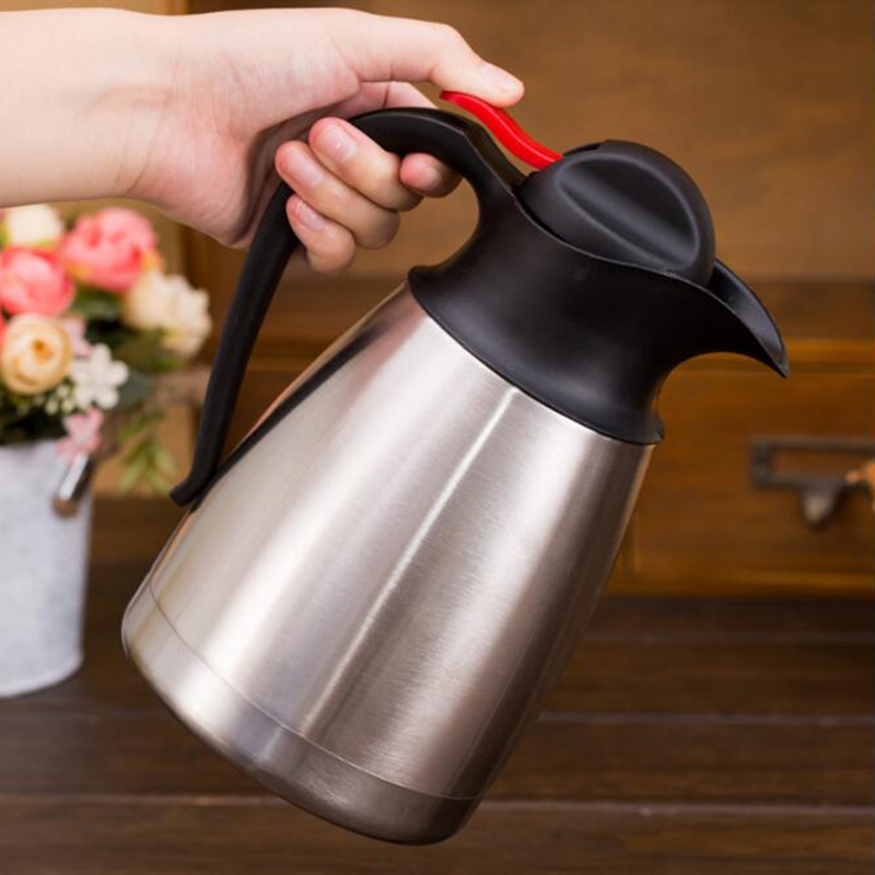 1L 1.5L 2L Stainless Steel Dispenser Insulated Hot /& Cold Flask Vacuum Tea Jug