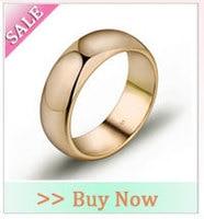 автомат полива кристалл циркония кольца для женщин белое золото цвет женщины Brutal кольцо ювелирные изделия бесплатная доставка 2rw-05