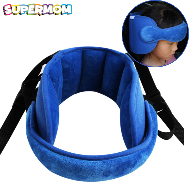 Baby Sleeping Pillow Head Fixed Neck Protection Newborn Car Seat Sleep Positioner Travel Outdoor Adjustable Head Support Pillow