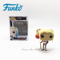 FUNKO POP Official Original Suicide Aquad & Harley Quinn Characters Action Figure Doll Collection Model Toys For for Friend