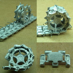 Assembly model  parts American M113 tank model, 1:35 metal track and drive wheel