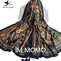 New Bohemia Ethnic Style Bandana Spring Autumn Oversized Soft Scarf and Wrap for Women Outdoor Casual Travel Shawls for Ladies