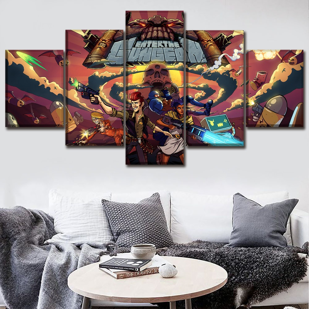 Lona HD imprime pintura decoración un conjunto 5 piezas imagen ...