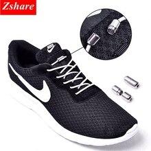 1Pair 25 colors no tie shoeLaces elastic locking round shoe laces kids adult sneakers shoelaces lazy quick Shoe Lace shoestrings