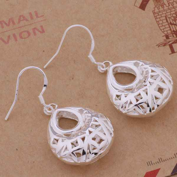 AE398 925 sterling silver earrings , 925 silver fashion jewelry , hollow out object /cgdakxka azlajqsa