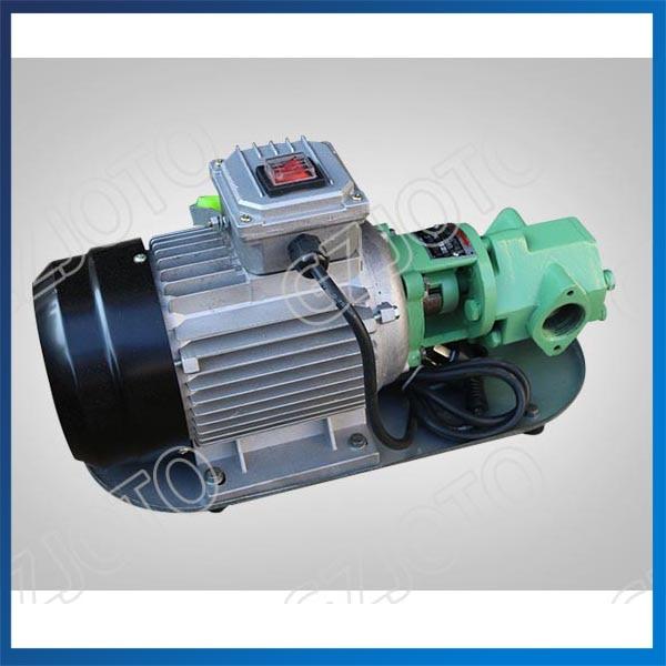 370W Portable Diesel Oil Pump Big Capacity Oil Transfer Pump 220V/380V Electric Centrifugal Oil Pump WCB-30 стоимость