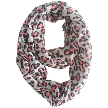 2019 Lightweight Infinity Women's Small Scarf Leopard Print Polyester Lady Ring Scarves Soft Sheer Spring Loop Scarfs 180*47 cm 2019 fashion women s voile infinity scarves lightweight elegant various floral print polyester ring thin sheer loop small scarf