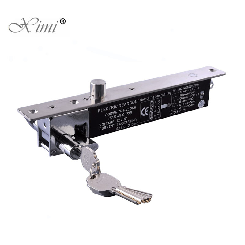 Hot Sale Emergency Electric Lock System NO Type Power To Open Fail Secure Low Temperature Door