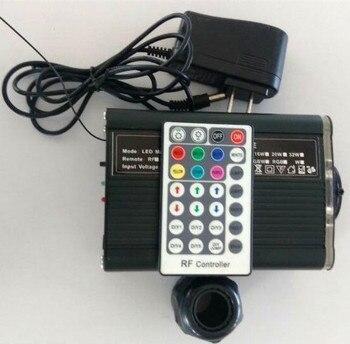 Twinkle effece RGBW 18 Watt LED-licht motor mit twinkle rad; mit 28key RF fernbedienung, AC100-240V eingang