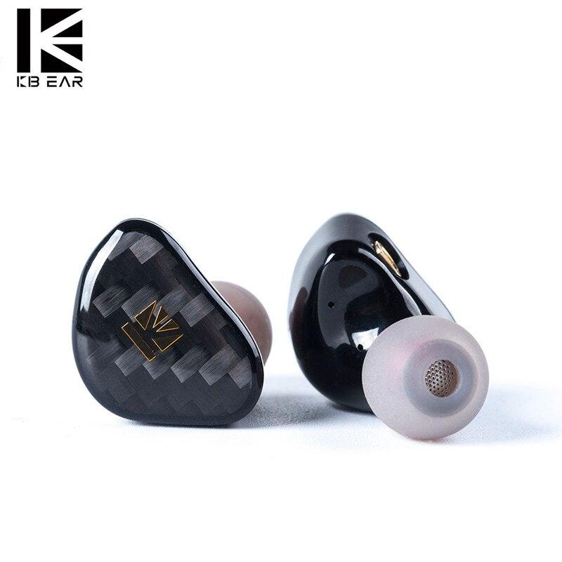 KB kulak Opal dinamik sürücü Hifi kulak kulaklık ile karbon Fiber plaka kulaklık ile Metal kaplama kulakiçi PK kablosuz kulaklıklar