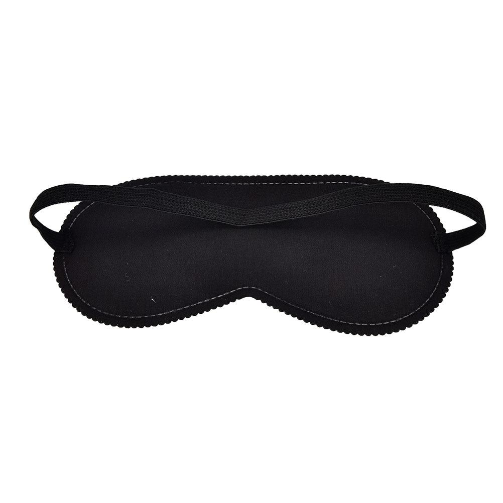 Cartoon Eye Mask Sleeping Eye Mask Black Eye Shade Sleep Mask Black Mask Bandage on Eyes for Sleeping Health Care 1pcs ruffle hem cami dress with eye mask