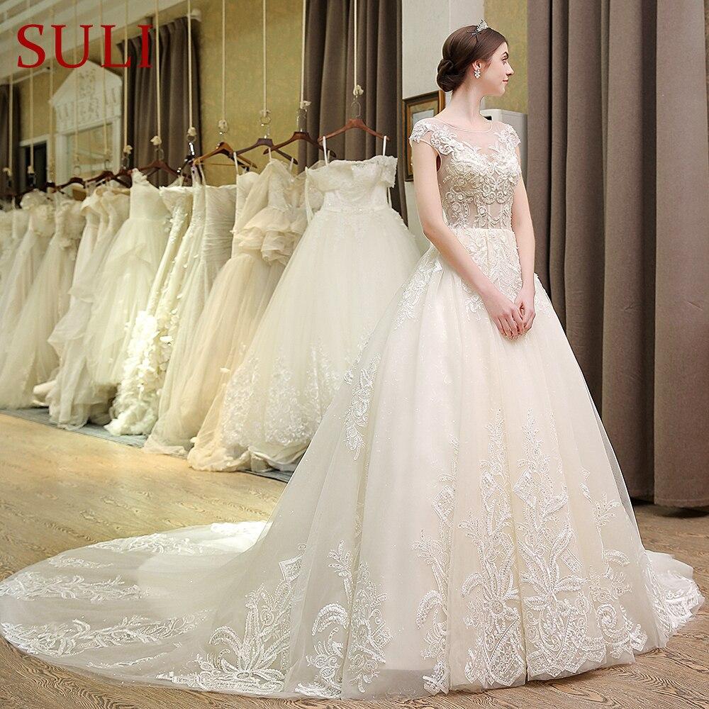 SL 80 Designer Bridal Dress Flowers France Lace Backless
