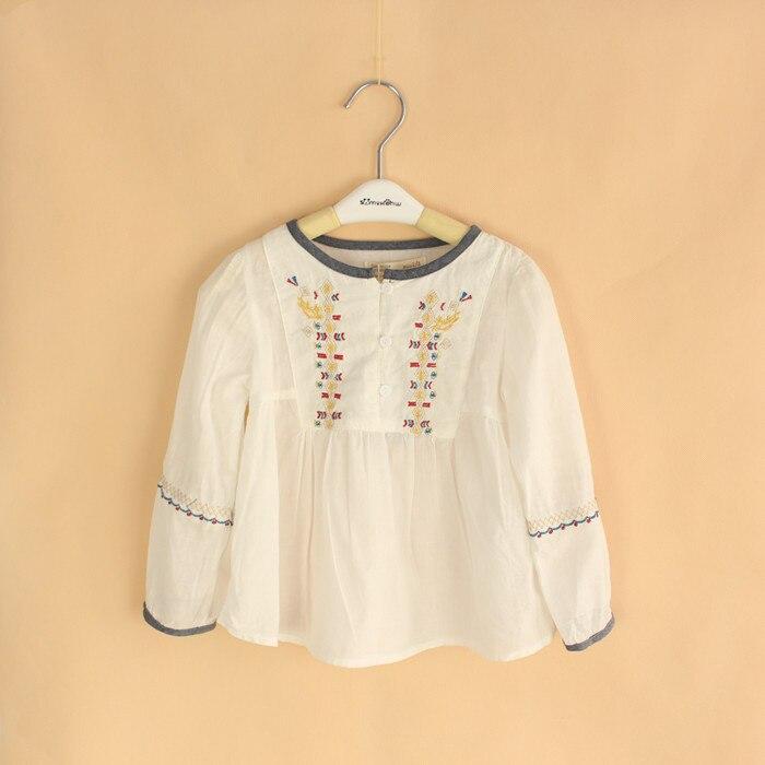 Aliexpress buy baby girls white blouses kids chinese