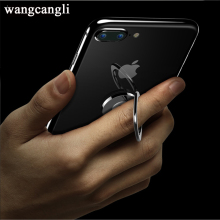 Wnagcagli Universal Rotation ring mobile phone holder 360 degree handle metal bracket