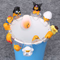 12pcs/1lot Gudetama Egg Putitto Series Cup 3cm Toys Action Figure Toy For Children Brinquedo #2056 Kids Christmas Gift