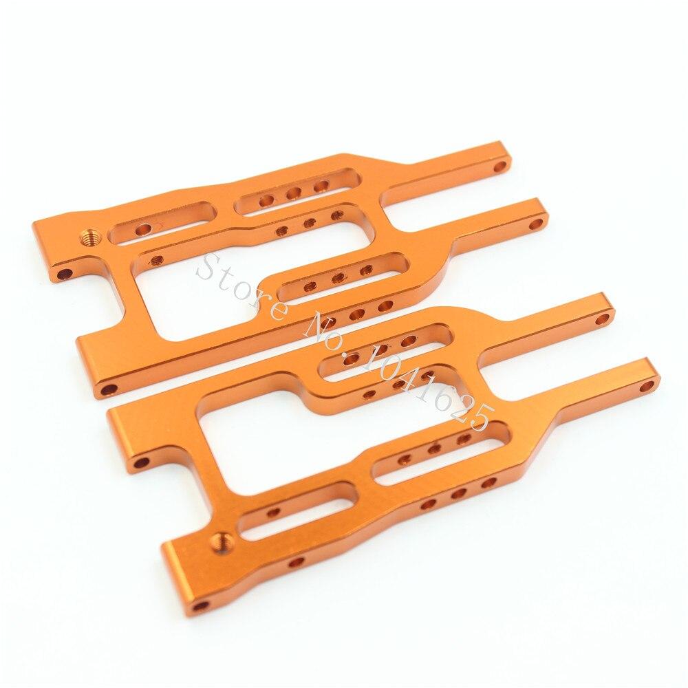Alluminio Anteriore Inferiore Braccio Sospensione (Al.) sostituire #101213 Per 1/10 RICAMBI HPI Proiettile ST 3.0 MT WR8 NITRO FLUX RTR Kit Parti di Aggiornamento