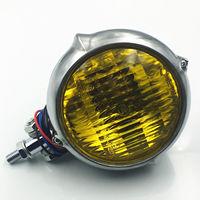 W stylu Vintage reflektor do Harleya Honda Kawasaki Suzuki Yamaha Triumph zwycięstwo XL CB na